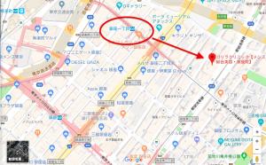 ゴリラクリニック 銀座店 MAP