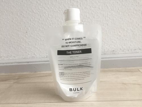 バルクオム 化粧水 パウチ