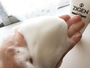 ZIGEN 洗顔料 泡立ち