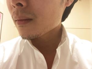 髭 アップ