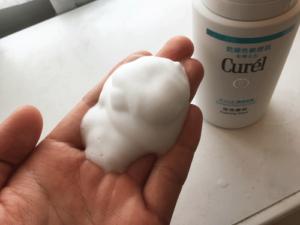 キュレル 洗顔料 泡
