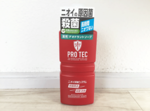 PROTEC ボディソープ 正面