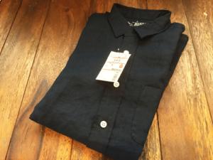 リネンシャツ 無印良品