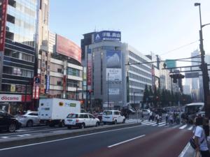 新宿南口 交差点