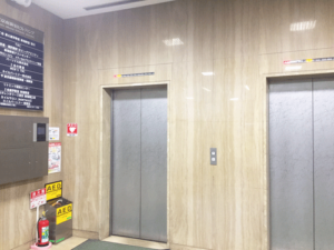 メンズTBC 新宿本店 エレベーター